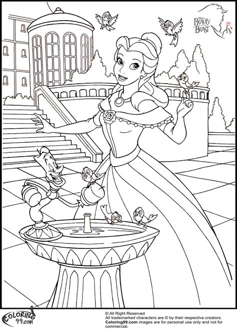 Disney Princess Belle Coloring Pages Minister Coloring Bell Princess Coloring Pages Free Coloring Sheets