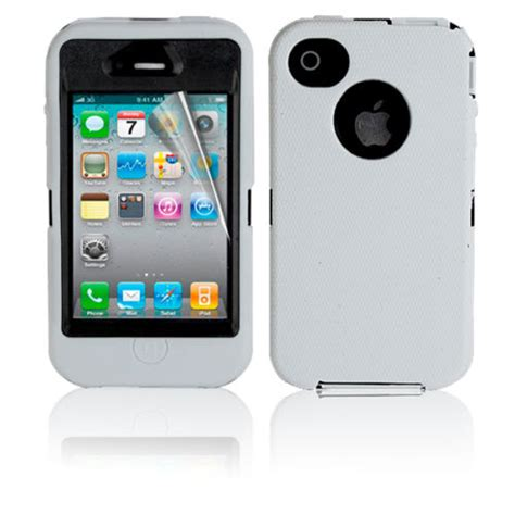 iphone 4 4s rugged defender tough shockproof cover