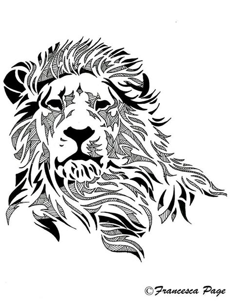 lion tattoo sketch pin by mar 237 a g a on siluetas lions