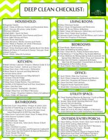 search results for house cleaning checklist printable