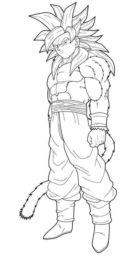 one east blue 4 5 6 goku ssj4 1st preview by drozdoo on deviantart