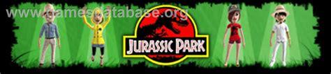 download jurassic park the game xbox 360 jurassic park microsoft xbox 360 games database