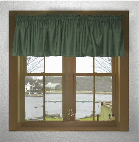 solid green curtains solid hunter green color valance in many lengths custom size