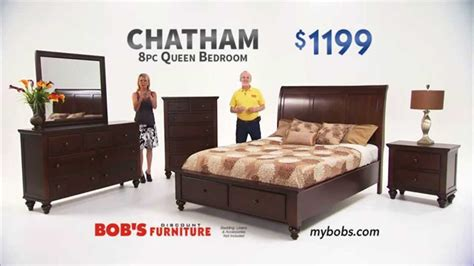 bedroom sets bobs chatham queen bedroom set bob s discount furniture youtube
