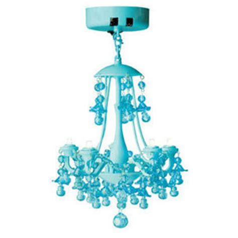 led locker chandelier light aqua blue polyvore