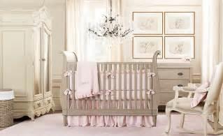 Modern and elegant baby girl nurseries