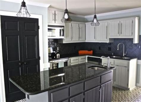 fresh coat of paint light vs dark kitchens 20 pictures of before and after kitchen makeovers with