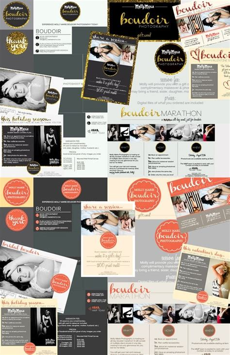 marketing packet template 1000 images about boudoir branding on
