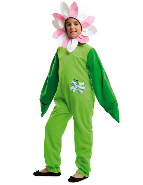 vestito da fiore carnevale costume da fiore con libellula per bambina costumi