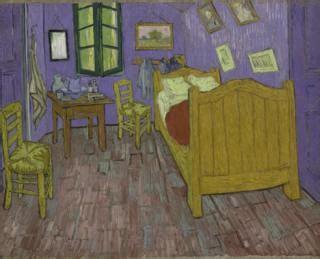 Gogh Bedroom Purple Gogh S Bedroom Gets Digital Makeover News