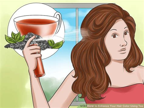 wikihow hair 3 ways to enhance your hair color using tea wikihow