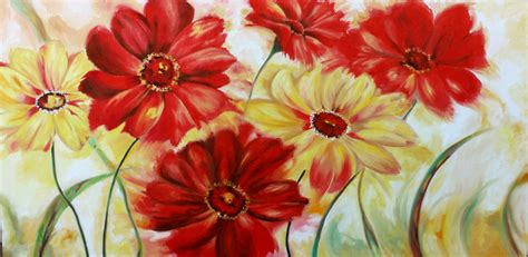 fiori quadro quadri moderni astratti e floreali i nuovi colori