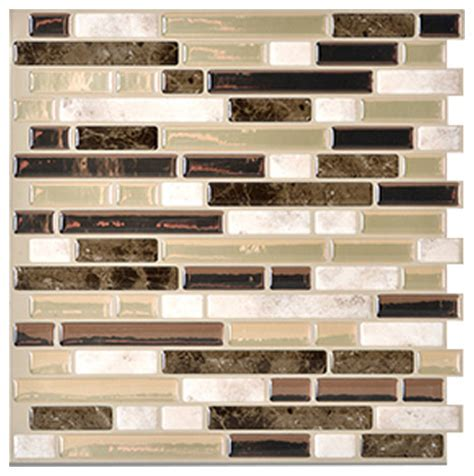 10 X10 Ceramic Tiles by Smart Tile Peel And Stick 3d Gel O Wall Tiles Mosaik 1