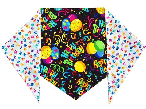 birthday bandana designer duds for dogs bandanas