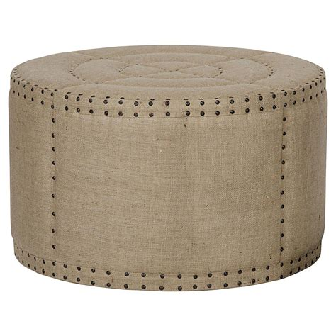 rustic ottoman coffee table adalene country burlap rustic coffee table