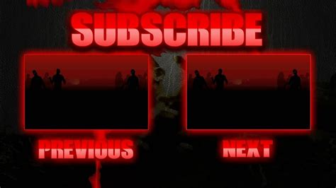 outro template maker free zombies outro template