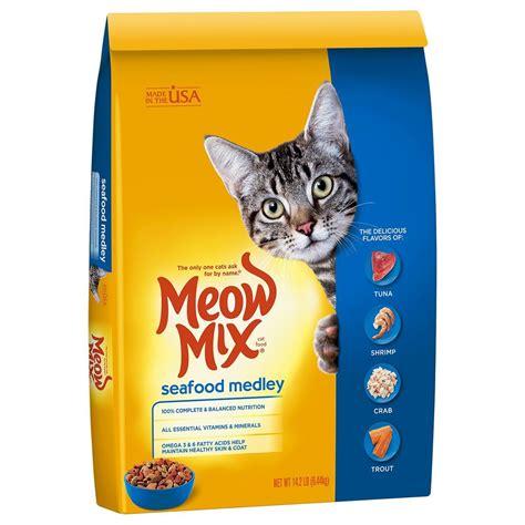 Meow Mix Kitten 510g Makanan Kucing Cat Food meow mix seafood medley cat food ebay