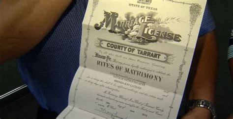Travis County Marriage Records Same Marries In Dallas After Landmark Supreme