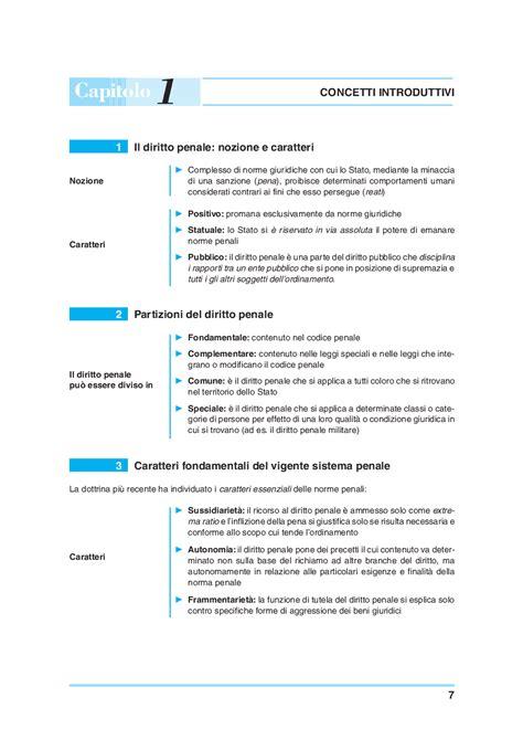 penale di diritto penale generale e speciale schemi e schede