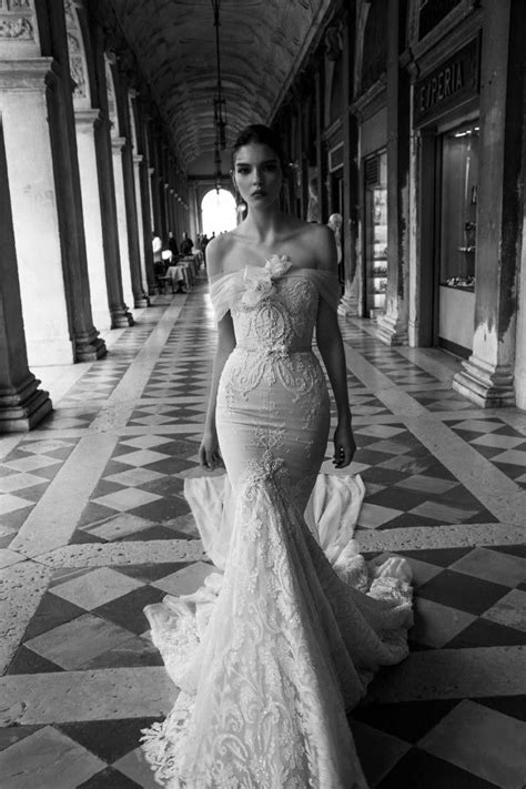 2015 Mermaid Inbal Dror Wedding Dresses Lace Backless Bridal Gowns Sequined Sweetheart Tulle