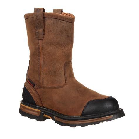 puncture resistant boots rocky elements wood puncture resistant work boot rkyk083