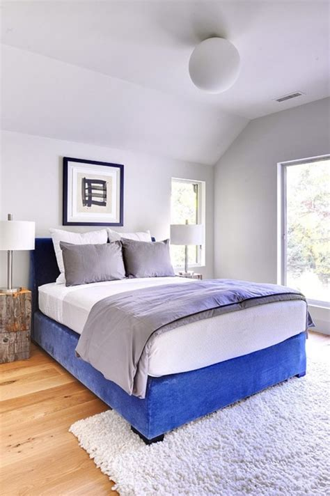 Bedroom Decorating Ideas Blue And White Impressive White And Blue Bedroom Decorating Ideas