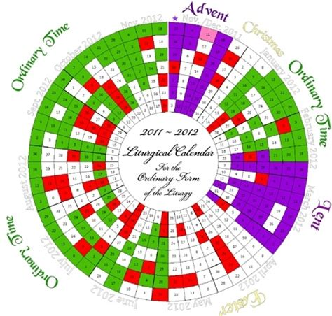 printable liturgical year calendar search results for printable liturgical color calendar