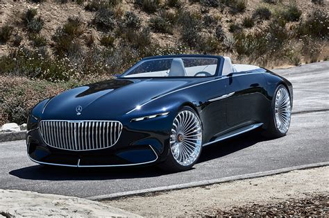 maybach mercedes vision mercedes maybach 6 cabriolet wows pebble