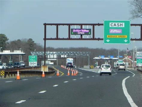 Garden State Parkway Toll by Njta Garden State Parkway Shoulder Widening And