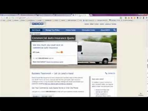 Commercial Car Insurance Quotes Online   Auto Insurance Quotes