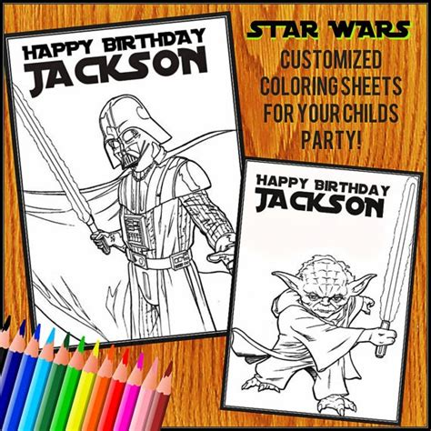 happy birthday star wars coloring pages pin by stacy burke on ra 2014 2015 pinterest