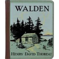 the book walden began walden essay by henry david thoreau bibliographyquizlet