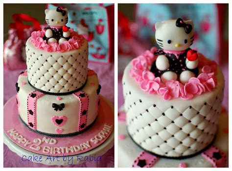 hello kitty themes party for a pinkblack white hello kitty themed birthday party