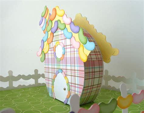 the bean house easter egg village jelly bean house pazzles craft room