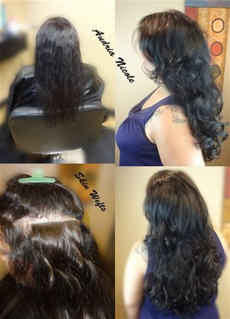 weaving black thin hair ultratress skin weft extensions are perfect for thin hair