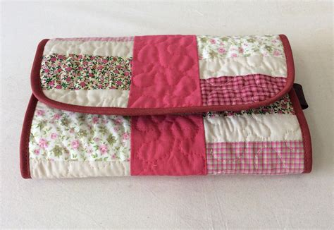 patchwork necessaire n 233 cessaire patchwork 2 em 1 fafa arte elo7
