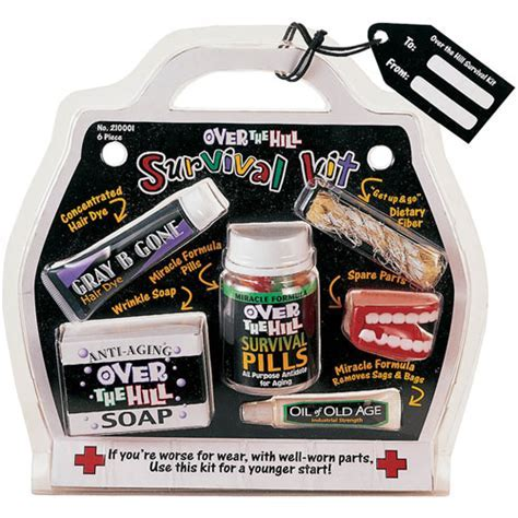 Over The Hill Survival Kit (1 ct)   Ziggos.com