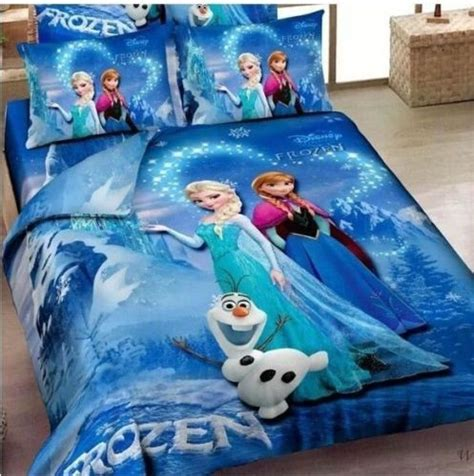 frozen queen comforter frozen princess anna queen elsa sister love olaf bedding