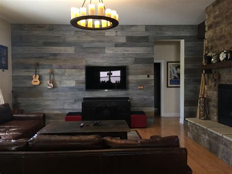 Steampunk Home Decor by Diy Weathered Barn Wood Wall Time Lapse Youtube