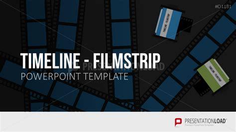filmstrip powerpoint template powerpoint timeline presentationload