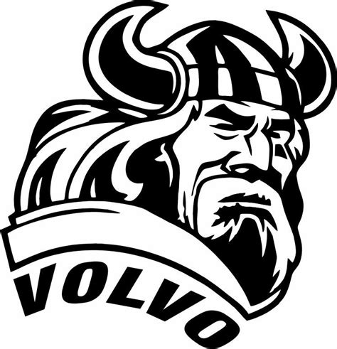 volvo viking custom design decal sticker ebay