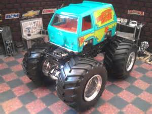 Scooby Doo Truck Wheels Custom Built 1 64 Scooby Doo Mystery Machine