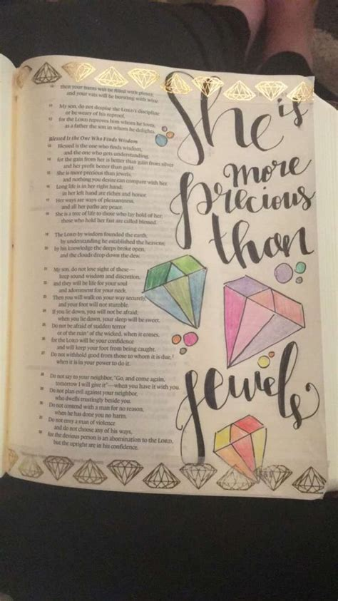 faith fear bible study lettering and watercolor books shayna danae she is more precious than jewels bible
