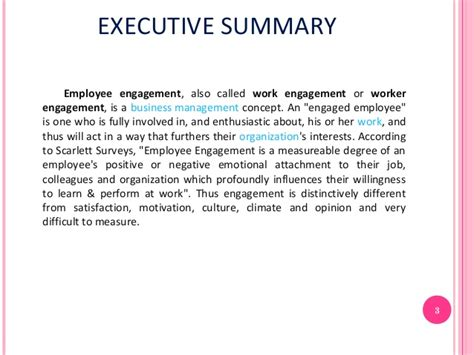 Employee Engagement Mba Notes by Employee Engagement