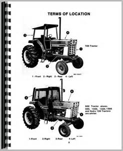 international harvester 986 tractor operators manual