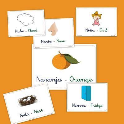imagenes en ingles que empiecen con n recursos para el aula vocabulario en im 225 genes letra n