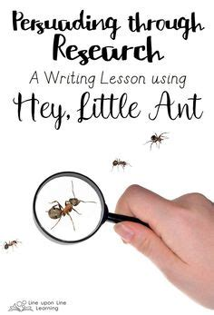 libro we are the ants hey little ant bulletin board writing pages teacherspayteachers com centers