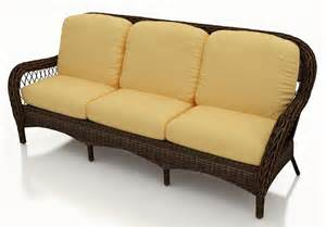 Wicker Cushion Replacement Forever Patio Leona Wicker Sofa Replacement Cushion