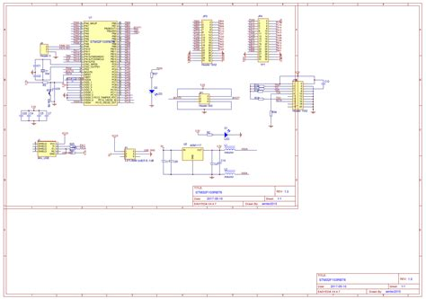 stm32f103 usb resistor stm32f103 minimum system board easyeda