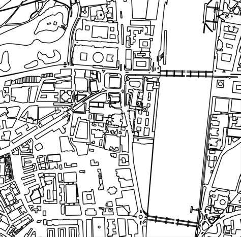 town map coloring page map lovers this new coloring book is perfect curbed